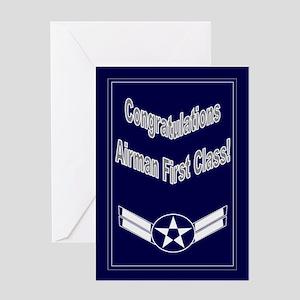 Congratulations Air Force Air Greeting Card