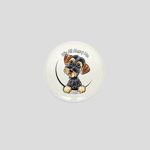 Wild Boar Dachshund IAAM Mini Button