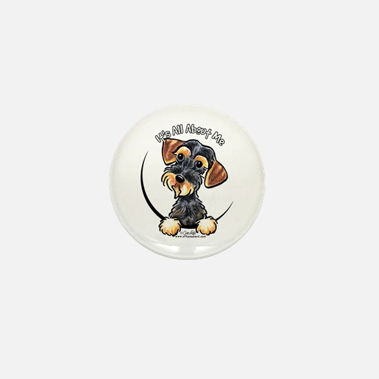 Wild Boar Dachshund IAAM Mini Button