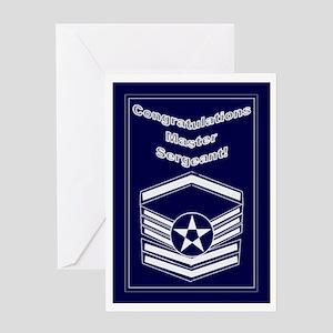 Congratulations Usaf Master S Greeting Card
