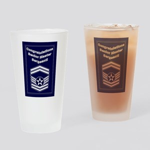 Congratulations USAF Senior M Drinking Glass