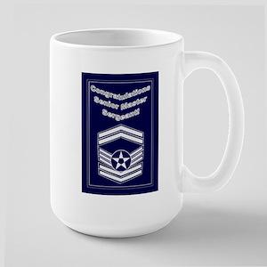 Congratulations Usaf Senior M Large Mug
