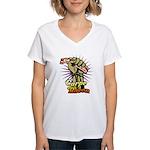 Carpe Bacon Women's V-Neck T-Shirt