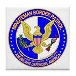Minutemen Border Patrol Tile Coaster