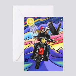MCycle - Eagle 1 Greeting Card