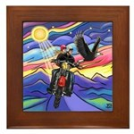MCycle - Eagle 1 Framed Tile
