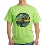 MCycle - Eagle 1 Green T-Shirt