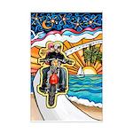Motorcycle Skyway #1 Mini Poster Print