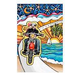 Motorcycle Skyway #1 Postcards (Package of 8)