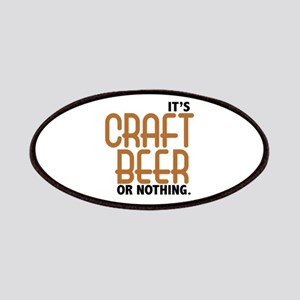 Craft Beer or Nothing Patches