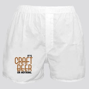 Craft Beer or Nothing Boxer Shorts