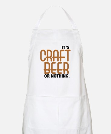 Craft Beer or Nothing Apron