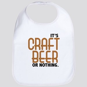 Craft Beer or Nothing Bib