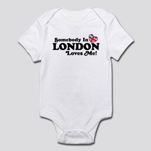 Somebody In London Loves Me Infant Bodysuit