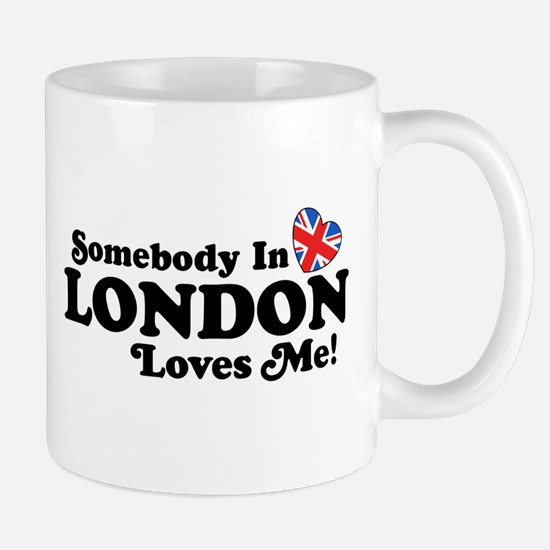Somebody In London Loves Me Mug