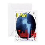 i_am_totally_hip Greeting Cards
