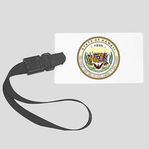 Hawaii State Seal Luggage Tag