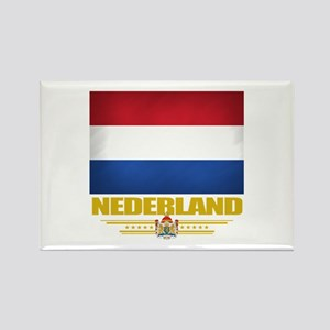 Netherland Pride Rectangle Magnet
