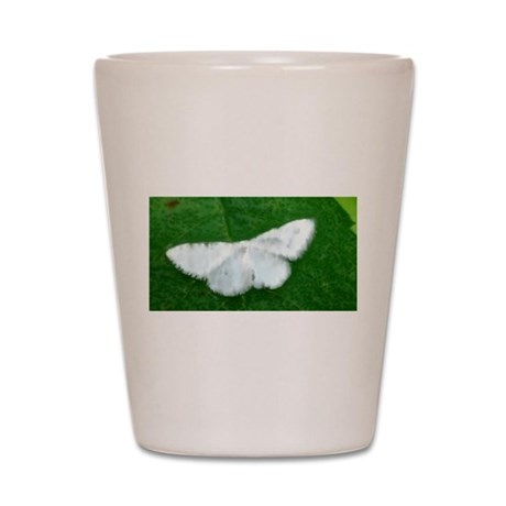 White Moth Shot Glass