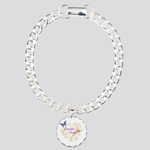 Heart Vampire Diaries Charm Bracelet, One Charm