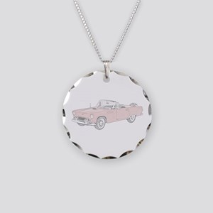 Ford Thunderbird Convertible Necklace Circle Charm