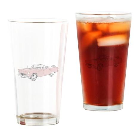 Ford Thunderbird Convertible Drinking Glass