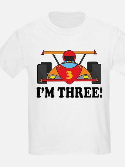 Racing Car 3rd Birthday T-Shirt