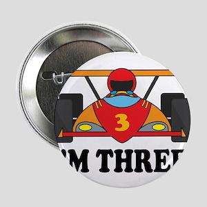 """Racing Car 3rd Birthday 2.25"""" Button"""