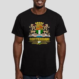 Rotterdam Men's Fitted T-Shirt (dark)