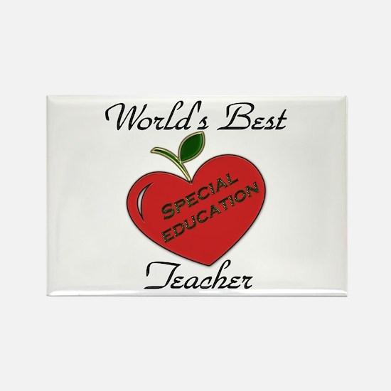 Cute Special ed teacher Rectangle Magnet