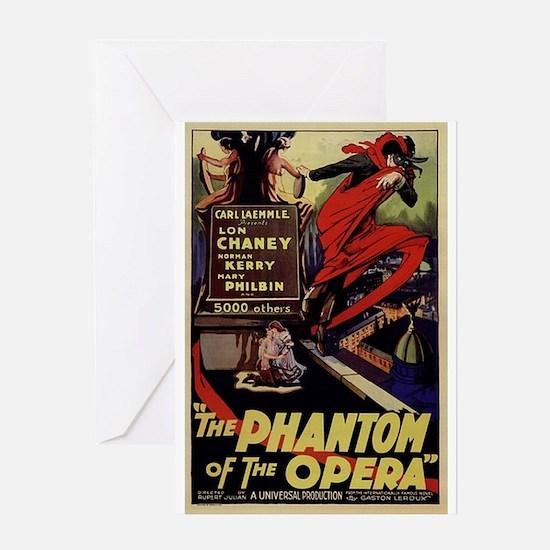 Original Phantom Greeting Card