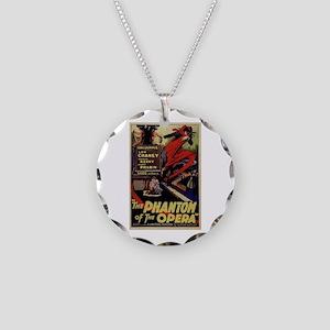 Original Phantom Necklace Circle Charm
