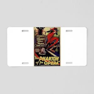 Original Phantom Aluminum License Plate