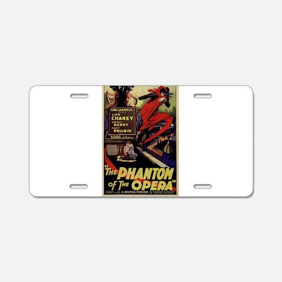 Original Phantom Aluminum License Plate