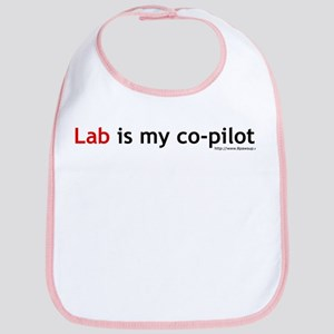 Lab is my Co-Pilot Bib
