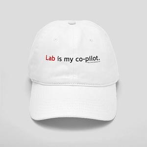 Lab is my Co-Pilot Cap