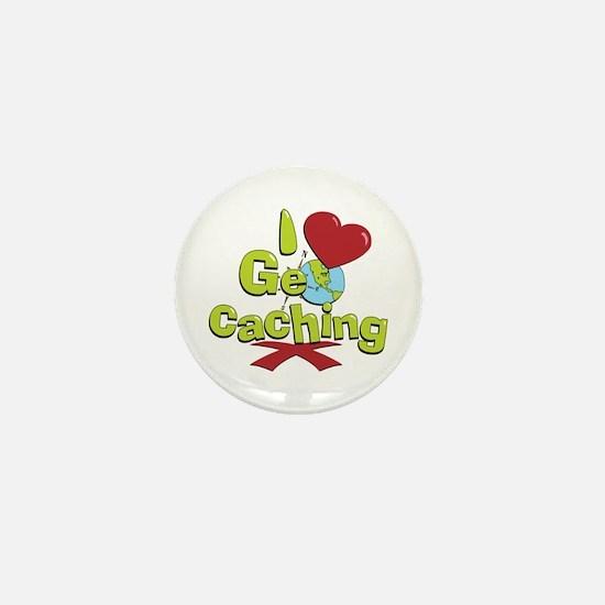 Geocaching Mini Button