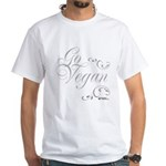 Go Vegan 1 - White T-Shirt