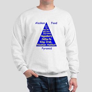 Alaskan Food Pyramid Sweatshirt