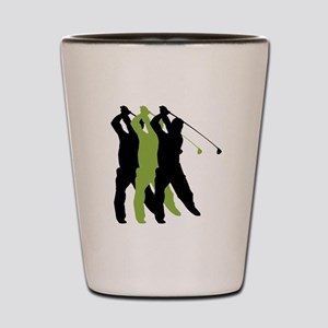 Golf Silhouette Shot Glass