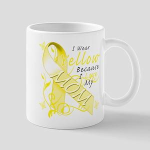 I Wear Yellow Because I Love Mug