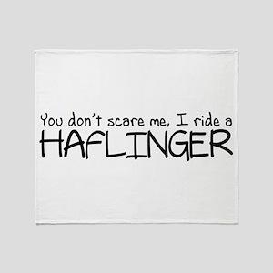 Haflinger Throw Blanket