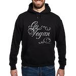 Go Vegan 1 - Hoodie (dark)