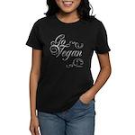 Go Vegan 1 - Women's Dark T-Shirt