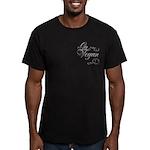 Go Vegan 1 - Men's Fitted T-Shirt (dark)