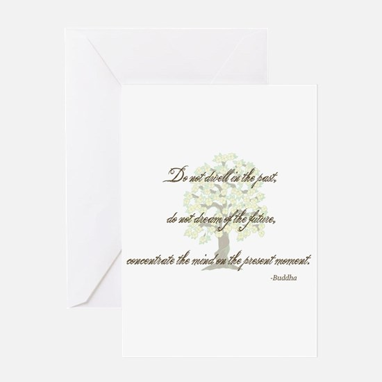 Buddha- Present Moment Greeting Card