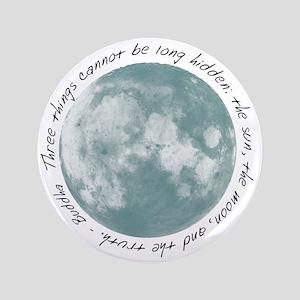 "Buddha-Moon 3.5"" Button"