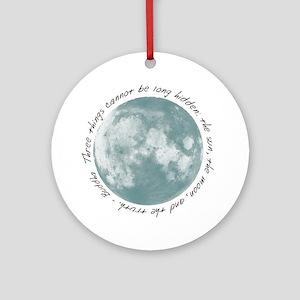 Buddha-Moon Ornament (Round)