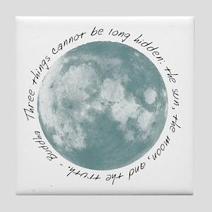 Buddha-Moon Tile Coaster