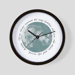 Buddha-Moon Wall Clock